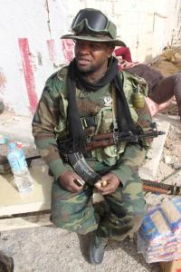 March 4, defected special forces soldier from Benghazi. Photo: Al Jazeera English