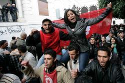 Tunis, 23 de enero. Foto: Nasser Nouri