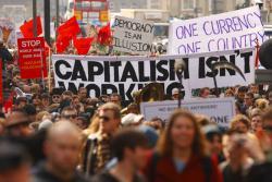 Capitalism isn't working. Photo: Jeff McNeil