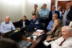 Awaiting updates on bin Laden. Photo: Pete Souza/ White House
