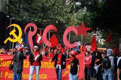 PCC, 1° de Mayo. Foto: Ronald Duenas