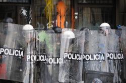 Policía. Foto: Ronald Duenas