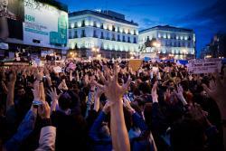 19 de mayo, Madrid. Foto: Sergio Rozas