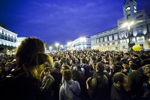 May 19, Madrid. Photo: Sergio Rozas
