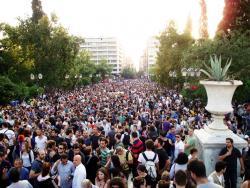 Syntagma Square, May 26. Photo: linmtheu.
