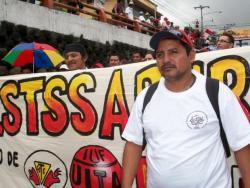 Atilio Jaimes Pérez, Secretario General de SELSA, Directivo de FESTSSABHRA y de CSTS