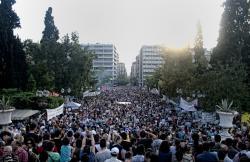 June 5, Syntagma Square, Athens. Photo: George Ampartzidis