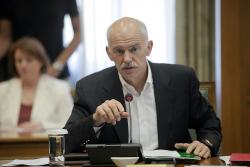 Papandreou, 22 de Junio. Foto: Prime Minister of Greece.