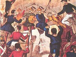Combat at Guangzhou (Canton) during the Second Opium War