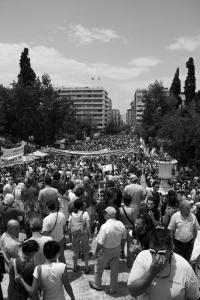 29 June, Syntagma Square. Photo: Odysseas Gp