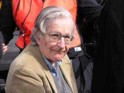 Noam Chomsky in 2004 (Photo: Duncan Rawlinson)