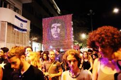 July, 30. Che Guevara in Tel Aviv. Photo: Yossi Gurvitz