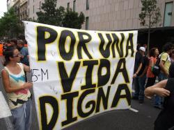 Por un vida digna - foto: www.luchadeclases.org