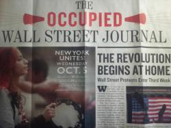 #OccupyWallstreet Journal