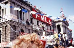 FMLN en 1992. Foto: Joseph Morris.