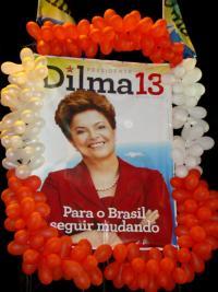 Dilma Rousseff. Photo: Isaac Ribeiro.