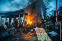 20140124-Kiev barricade-Sasha Maksymenko