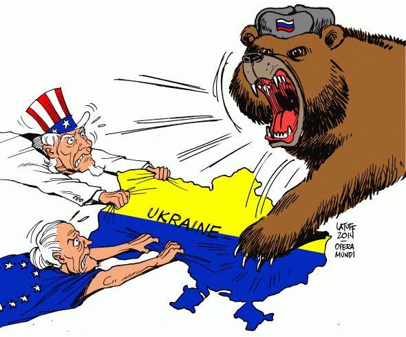 Imperialismo en Ucrania