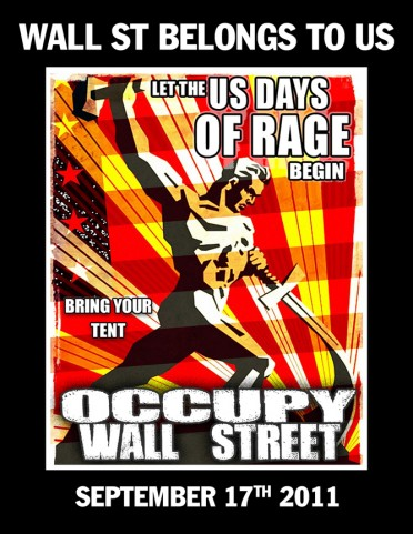 #OccupyWallstreet Poster