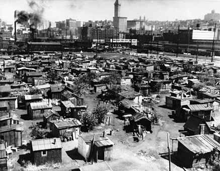 "Nearly a century ago saw a Depression-era ""Hooverville"" inhabited by Tennesseans fleeing starvation and desperately searching for work."