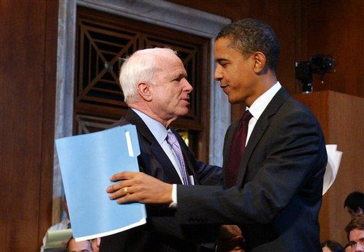 Obama and McCain - not so different. Photo by Chesi on Flickr.
