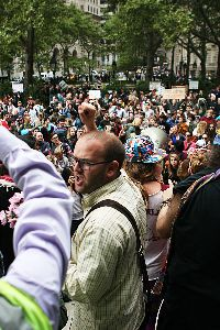 September 18, Occupy Wall Street. Photo: Paul Weiskel