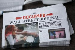 Occupied Wall Street Journal. Photo: guney cuceloglu