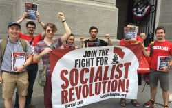 WIL at DNC protest - Socialist Appeal United States