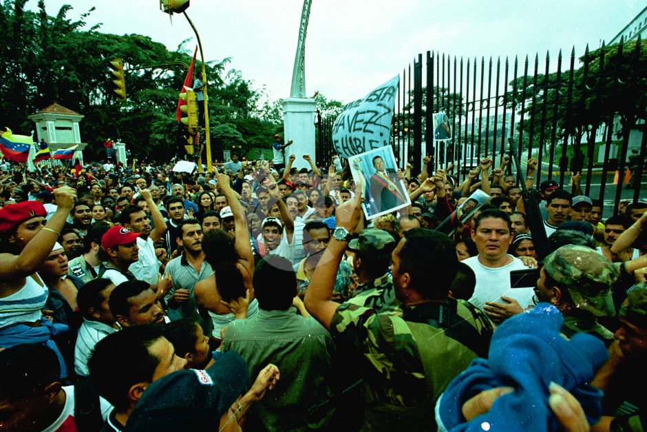 2002 venezuelan coup essay Katherine castrillo, writer and queer organizer, recalls the mass protests against the 2002 us- backed coup and contextualizes people's power in venezuela today.