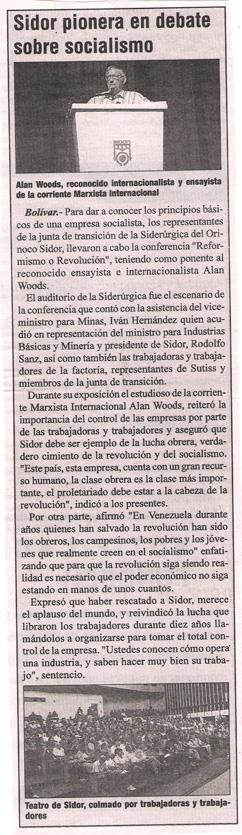 Bolivarian Daily VEA