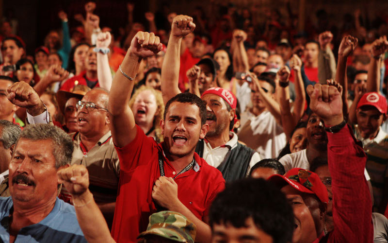PSUV rally 19 May. Photo: chavecandanga.