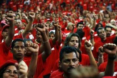 PSUV promoters take socialist oath