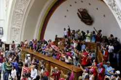 Bolivarians taking over parliament 2 - Henry Tesara AVN