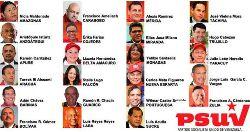 Candidatos De Psuv