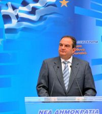 Kostas Karamanlis. Photo by 