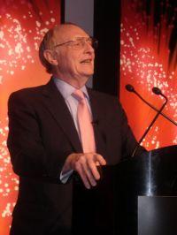 Neil Kinnock  speaking in 2007. Photo by dushenka.