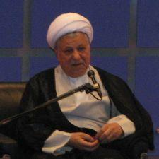 Rafsanjani. Photo by Mesgary.