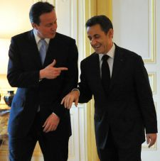 David Cameron and Nicolas 