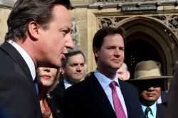 David Cameron y Nick Clegg. Foto de Office of Nick Clegg.