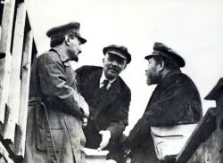 Lenin and  Trotsky led the Third International before it degenerated.