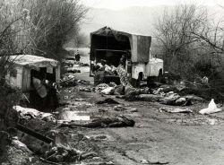 Massacre of Iranian  civilians. Photo by sajed.ir.
