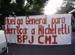 El Salvador: Exitosa marcha en contra del golpe de Estado en Honduras