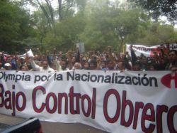 México: Carta abierta - Por la nacionalización de Olympia bajo control obrero