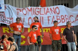 Italy:  Pomigliano FIAT workers will not surrender! Pomigliano resists!