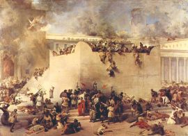 The siege of Jerusalem, 70 CE