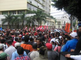 Demonstration on November 5, 2009.