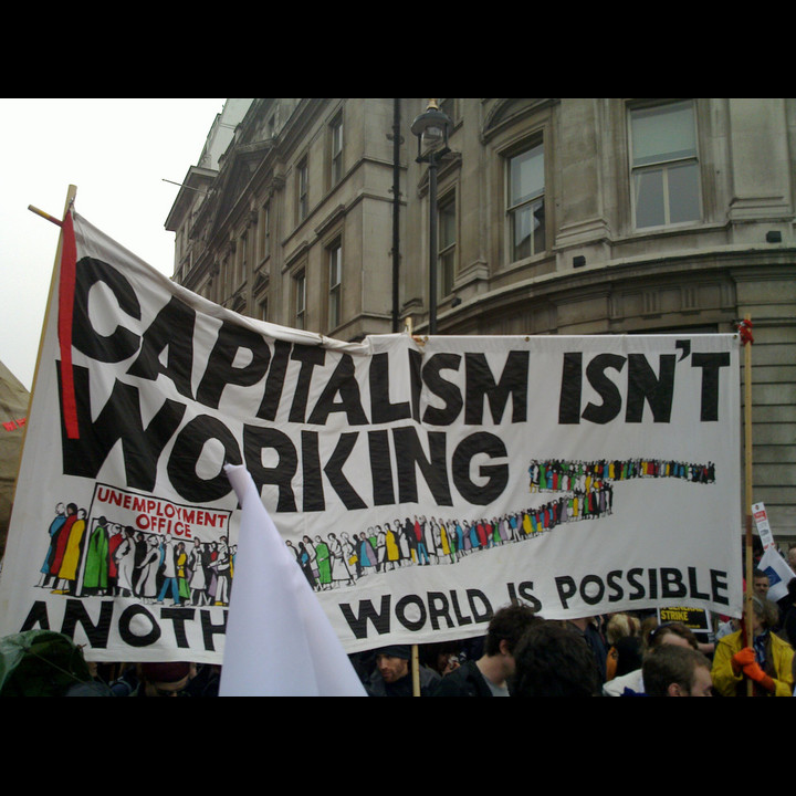 Capitalism isnt working Charles Hutchins CC BY 2.0