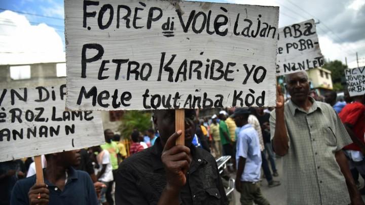 Petrocaribe manifestation Image Medyalokal