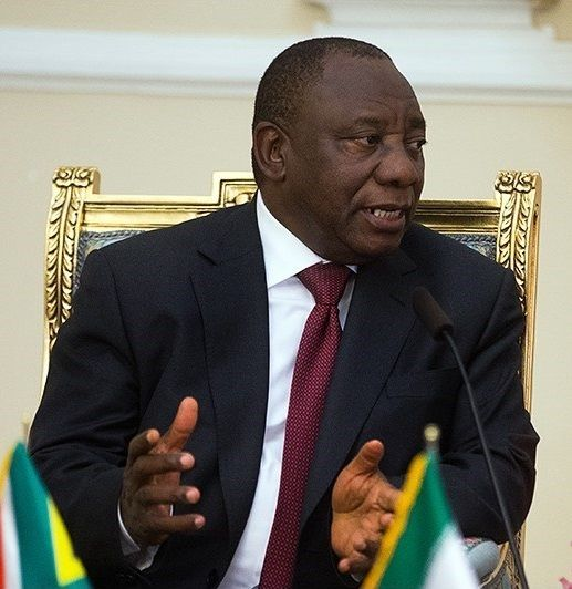 Cyril Ramaphosa Image Erfan Kouchari