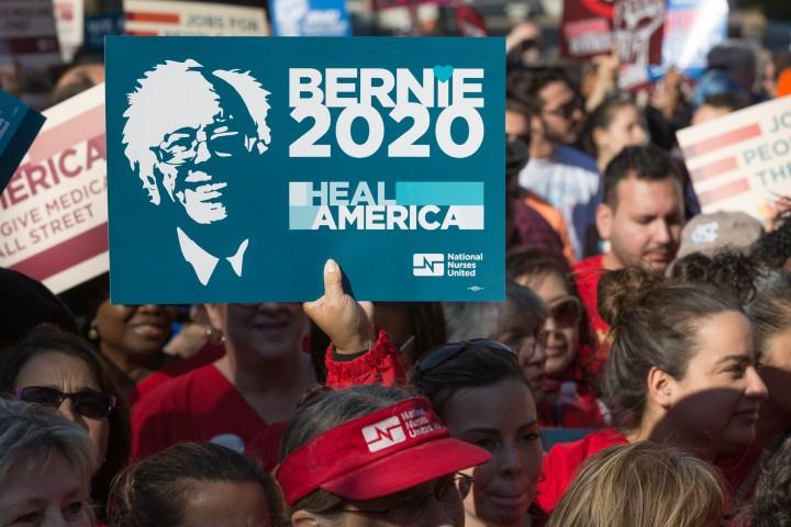 Bernie Iowa 2020 Image Flickr Lorie Shaull
